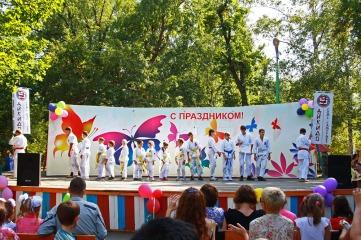 Первомайский парк - айкидо