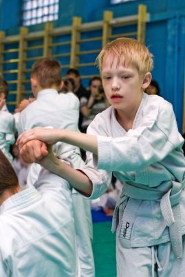 Айкидо Айкикай детский экзамен
