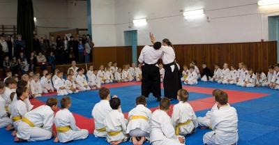 Детский семинар для 10 и 9 Кю