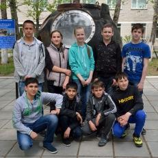Показательные выступления в Углегорске