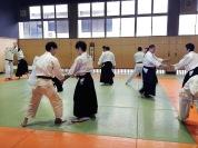 Тренировка в г. Ниигата (зал района Куросаки)