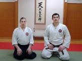 Япония, тренировки с сенсеем Кацурадой